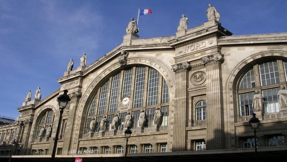 Façade Gare du Nord à Paris (Copyright Parisrama.com))