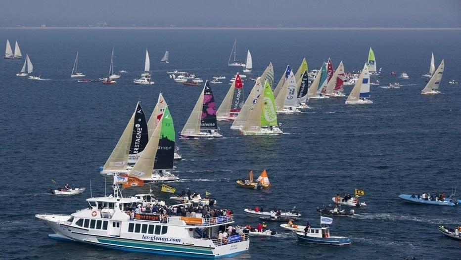 Le départ de la course sera donné dimanche 17 mars  à 13h00 depuis Brest (photo archives Penduick)