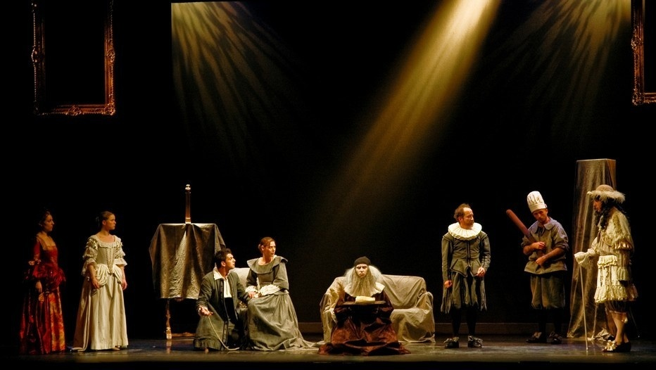 l'Avare au Théâtre Michel à Paris (Photo Théâtre Michel)