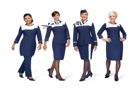 Hôtesses Cie Finnair (Photo Gallery Finnair)
