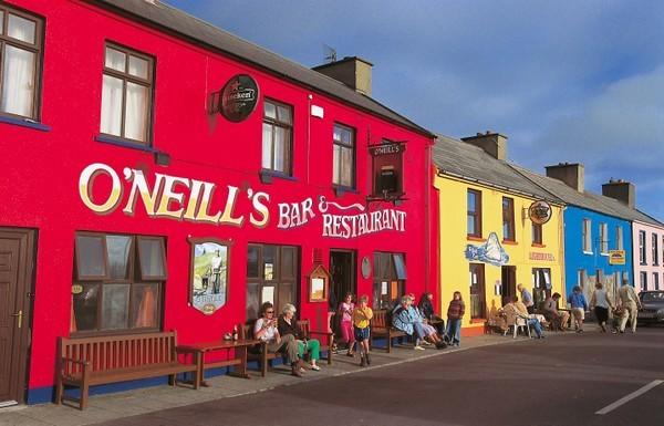 Concert dans un pub irlandais