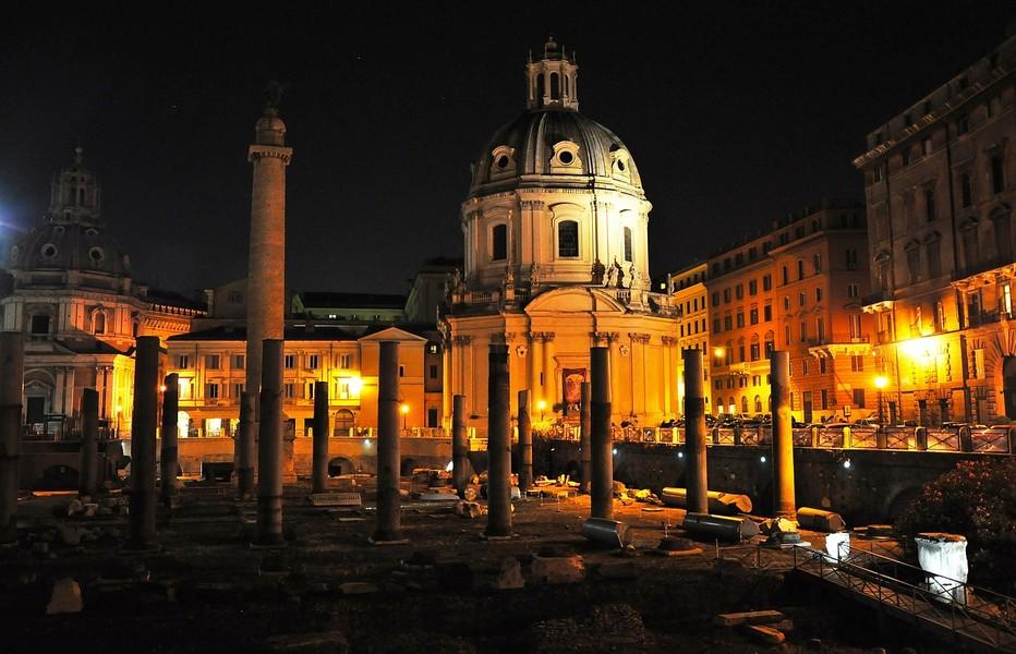 Vue sur le Dôme de la Basilique Saint-Pierre de Rome; Copyright photo Lindigomag/Pixabay