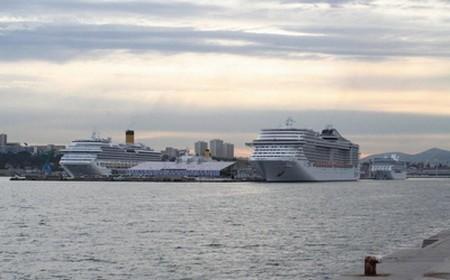 Le terminal croisières de Marseille devrait accueillir plus d'un million de passagers en 2013©Marseille Provence Cruise Terminal