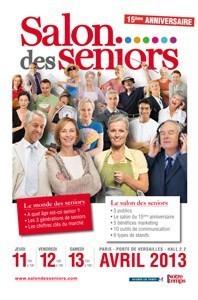 Le Salon des Seniors a lieu du 11 au 13 avril à la porte de Versailles à Paris