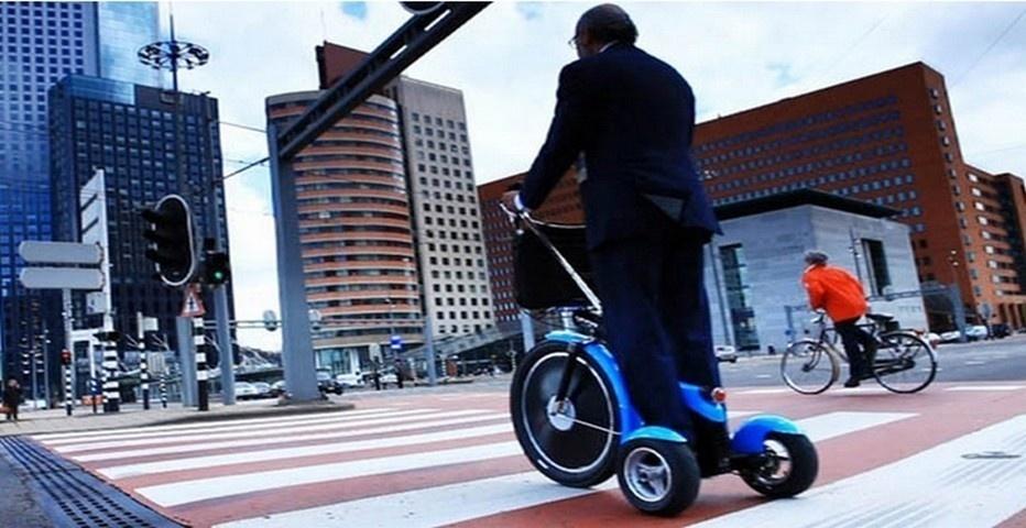 Qugo, le vélo à moteur du futur (photo LD)