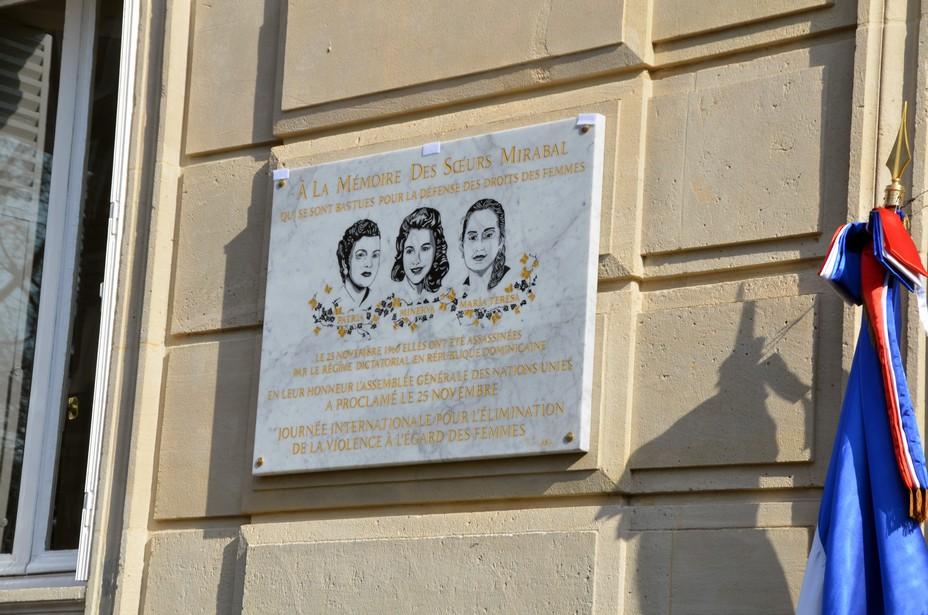 Les sœurs Mirabal, Patria, Minerva et María Teresa, furent héroïnes et martyres de la lutte contre le dictateur Rafael Trujillo, qui dirigea la République Dominicaine de 1930 à 1961. On les surnommait aussi les sœurs « Mariposas » (Papillons). Crédit photo David Raynal.