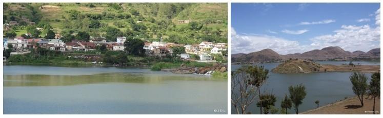 Vue sur le village d'Ampéfy. 2/ Région des lacs d'Itasy (Photos L.D.)