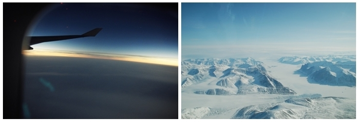 1/ pm_Eclipse 2/  Vol au-dessus du Pôle Nord (photos pm_PF_Spitzbergen_Flughafen_kl )