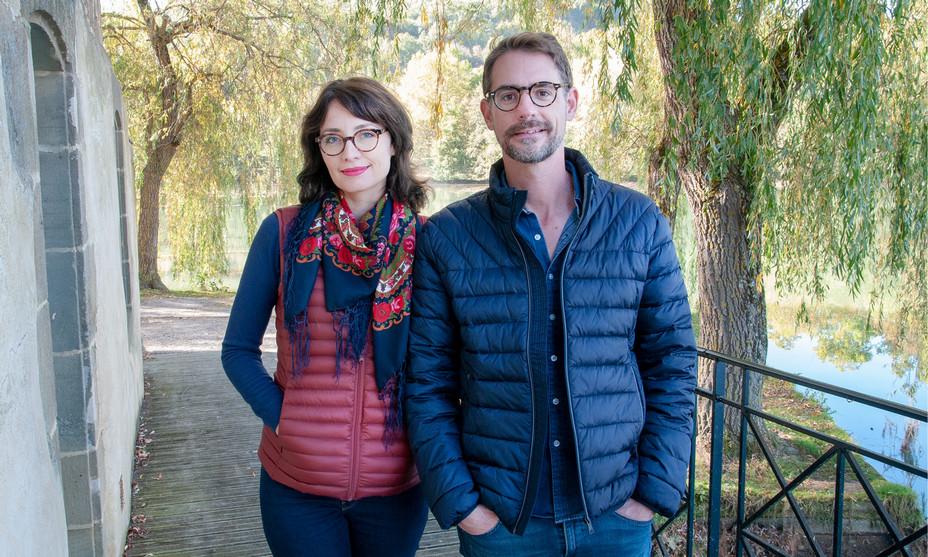 Chrystèle Pourret et Franck Nolorgues, fondateurs de Nogalia. @ Nogalia