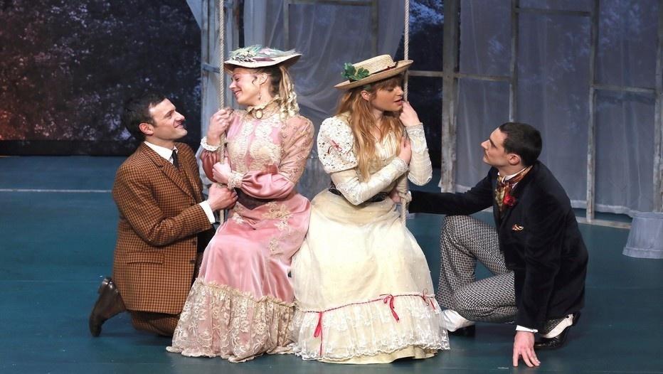 L'Importance d'être sérieux , une pièce d'Oscar Wilde dans la nouvelle traduction de Jean-Marie Besset. (Photo LOT)