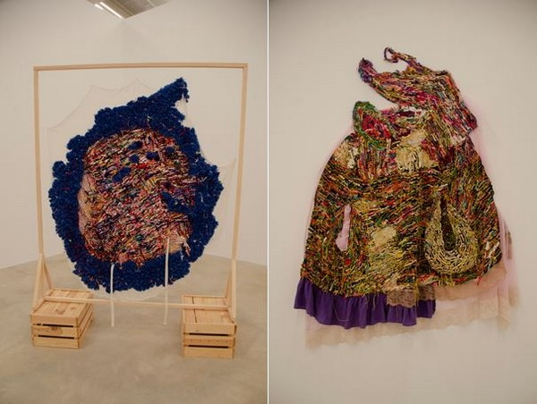 Georgia Maxim, présentent des pièces textile hétéroclites intimement liées à des individus et à leur mémoire @ David Raynal