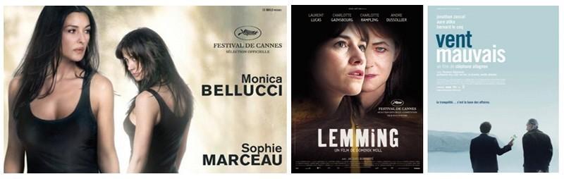 Lemming de Dominik Moll avec Charlotte Rampling et Charlotte Gainsbourg a été en 2005 le film d'ouverture du 58e festival de Cannes.