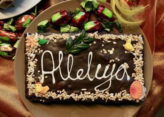 Le « mazurek » est un gâteau pour les fêtes pascales  @ DR