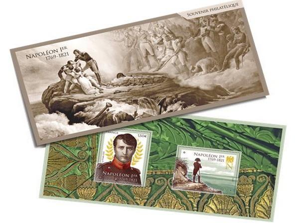 Le bloc de timbres et souvenir philatélique @Philaposte