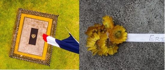 Durant cette période de commémoration, il est possible de déposer une mini-couronne sur la tombe de Napoléon à Sayne Valley  @Saint Helena Napoleonic Heritage Ltd.