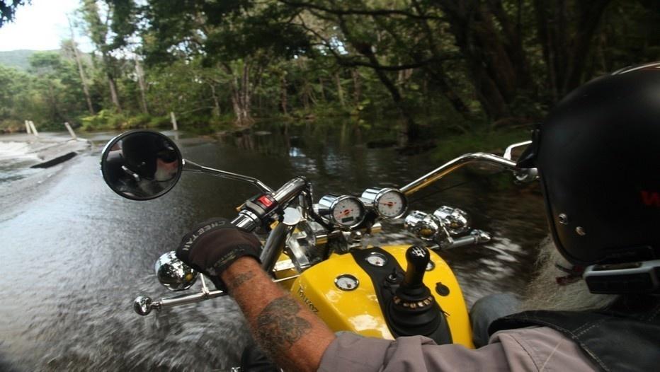 Passionnés de moto, Grub propose de parcourir la région en trike, pour des excursions originales d'une heure à plusieurs jours ©Patrick Cros