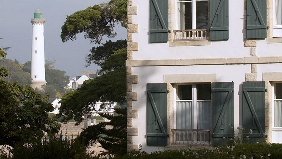 Villa Tri Men située à côté du phare dans la petite ville de Combrit située face à l'Atlantique entre Bénodet et Sainte-Marine (Sud-Finistère) - Photo D.R.