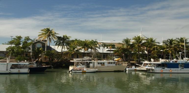 Port Douglas, vue sur le port  ©Patrick Cros
