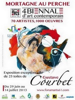 Vingt-cinq toiles de Gustave Courbet à Mortagne-au-Perche