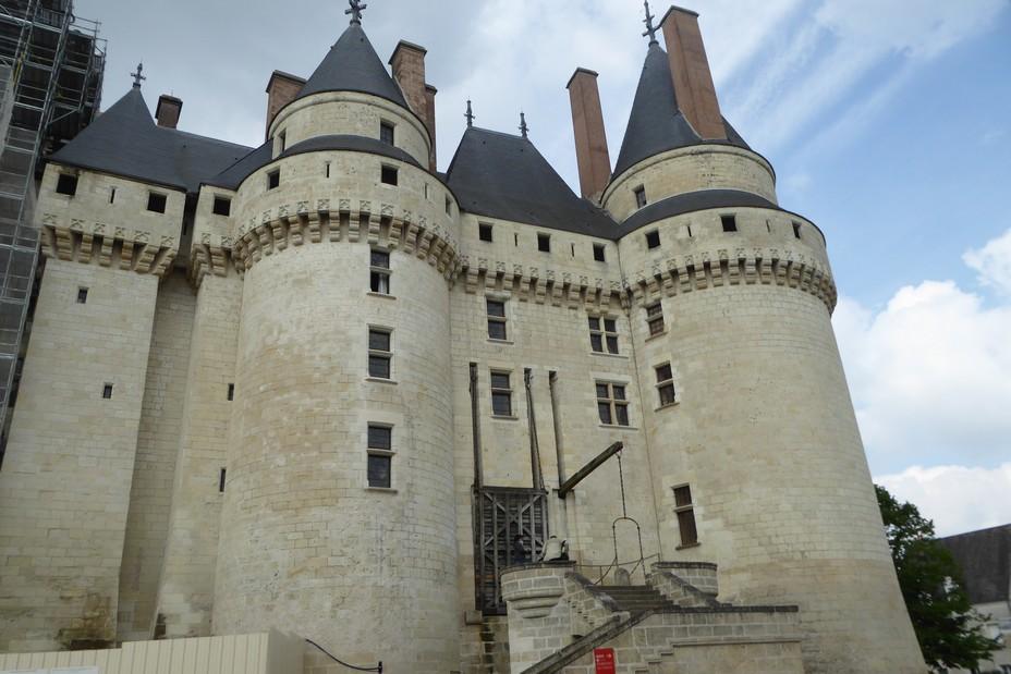 Le château de Langeais côté ville @.C. Gary