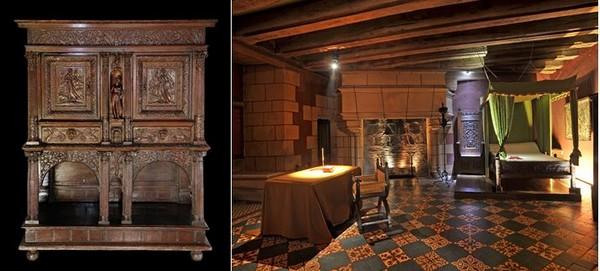 Le Château de Langeais doit son renouveau à Jacques Siegfried, grand amateur d'art médiéval qui en devient propriétaire en 1886 et n'aura de cesse de lui redonner son faste d'antan. @JM Laugery et Château de Langeais.
