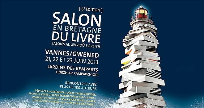 Le 6e Salon du Livre en Bretagne de Vannes a lieu du 21 au 23 juin