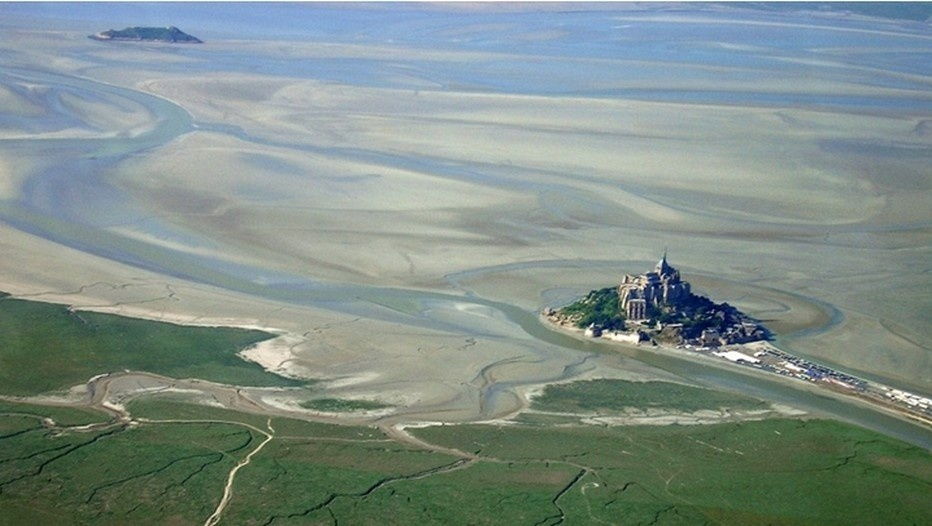 Les grandes marées du Mont Saint-Michel (Photo Uwe.K)