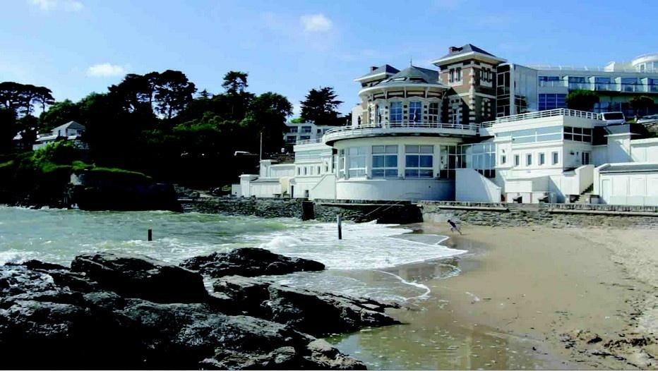 Alliance Pornic Hôtel Thalasso & Spa est idéalement en surplomb de la mer  (photo D.R.)