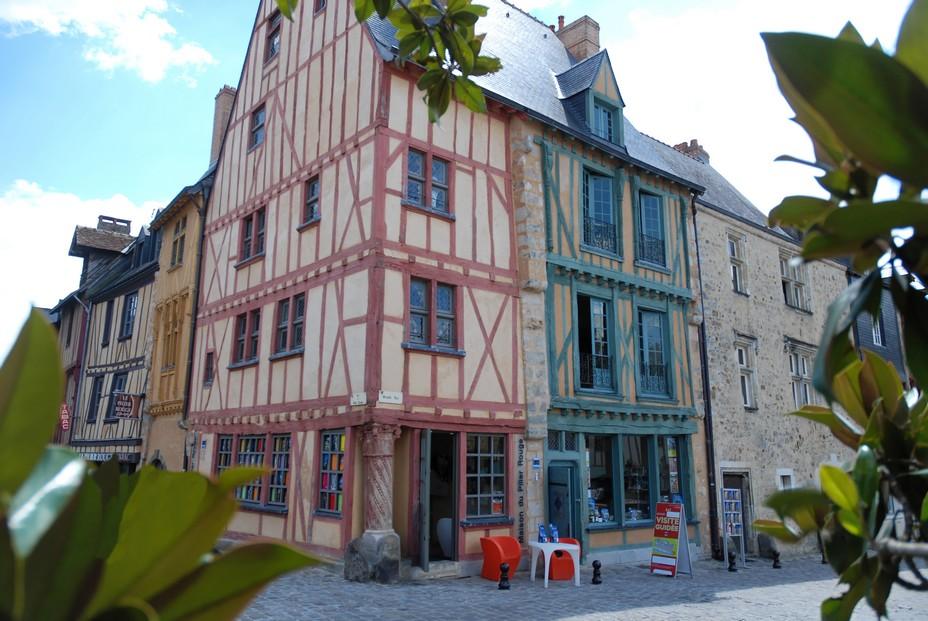 Maison du pilier rouge © pierre poirrier-ville du mans