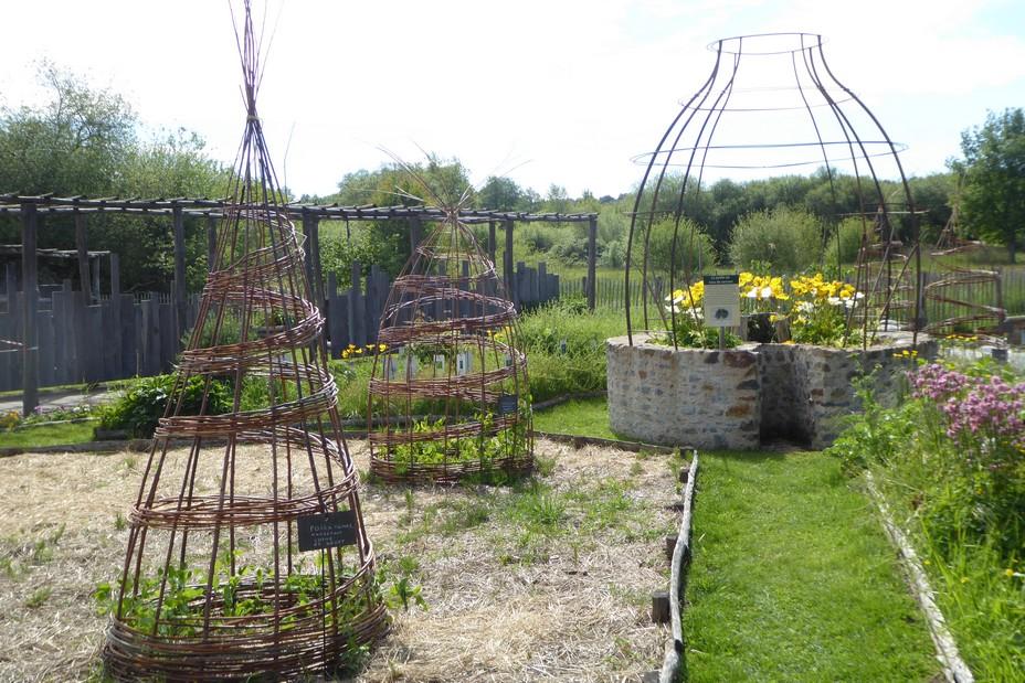 Jardin potager à l'Arche de la Nature @ C.Gary