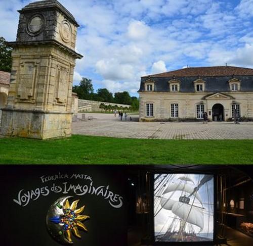 La Corderie Royale à Rochefort - Exposition de La plasticienne, peintre et sculptrice Federica Matta investit jusqu'au 2 janvier 2022 @ David Raynal