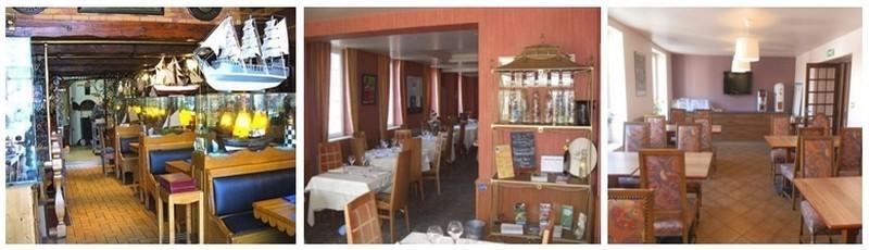 1/Salle brasserie 2/ Salon privé  3/ Salle pour séminaires et petits-déjeuners  (photos DR)