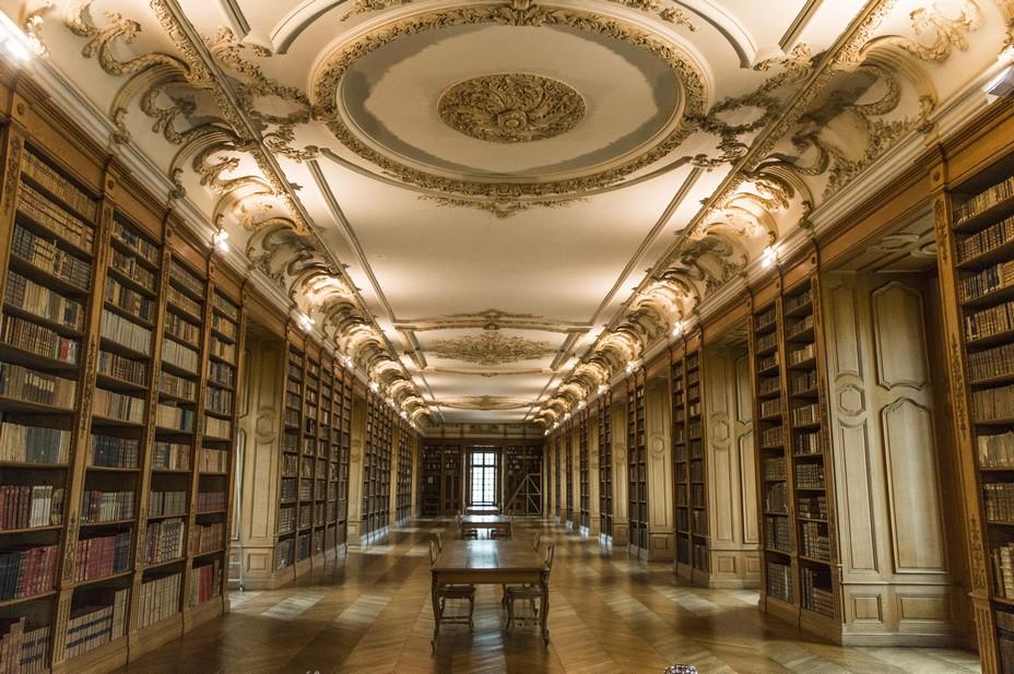 St Mihiel Bibliotheque bénédictine  @Jan Vetter