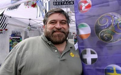 Le directeur du Festival interceltique de Lorient, Lisardo Lombardia est impliqué dans l'étude et la défense de la culture celtique depuis la fin des années 70. (Photo David Raynal)
