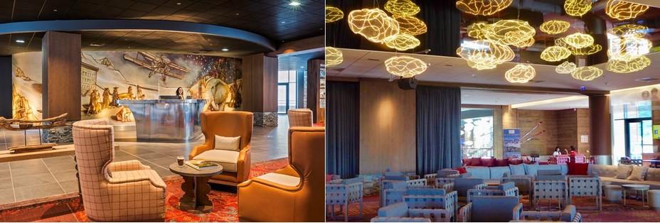 Club Med Salon d'accueil @ Maud Dela flotte  et Club Med Salons du Club Med de lLa Rosière  @ C. Gary