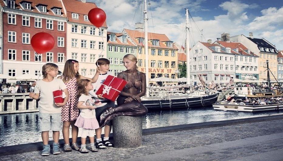 La petite Sirène danoise fête ses cent ans (photo DR)
