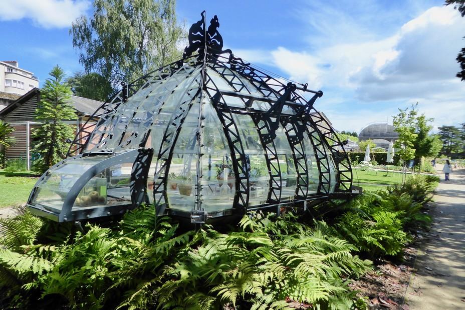 Le Jardin des plantes Serres aux plantes tropicales. @C.Gary