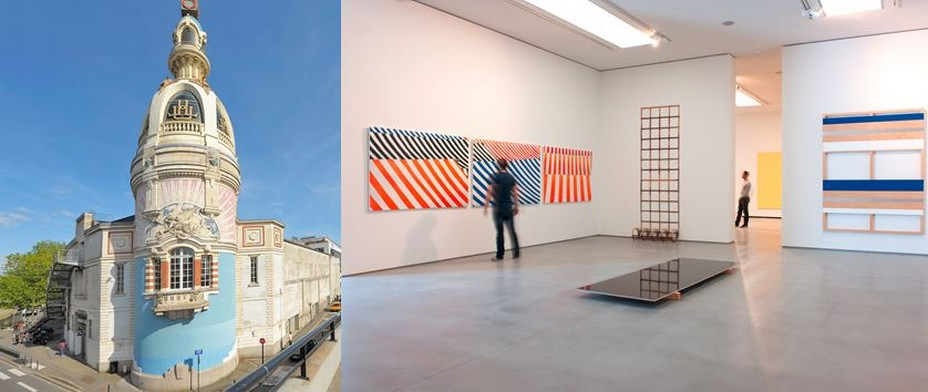Le lieu Unique; et Le Musée d'Arts. Nouveau bâtiment dédié à l'art contemporain  © Musée d'Arts de Nantes - C. Clos