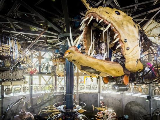 Ile de Nantes Le Carousel Machine de l'île @ Franck Tomps