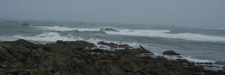 Les côtes de Plouguerneau au nord du Finistère (photo Bretagne.com)