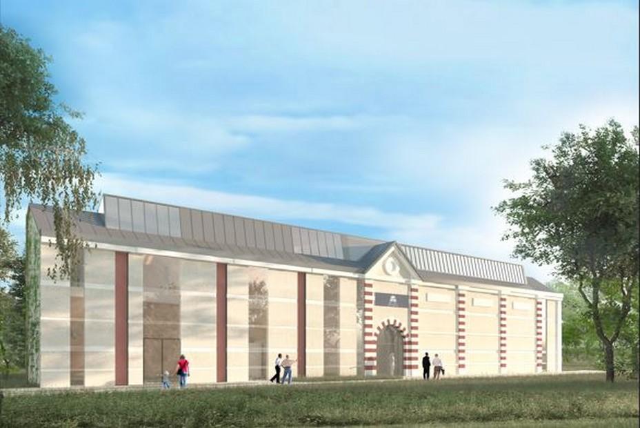 Galeries Léonard de Vinci peintre et architecte © Atelier d'architecture Chaix & Morel et associés.