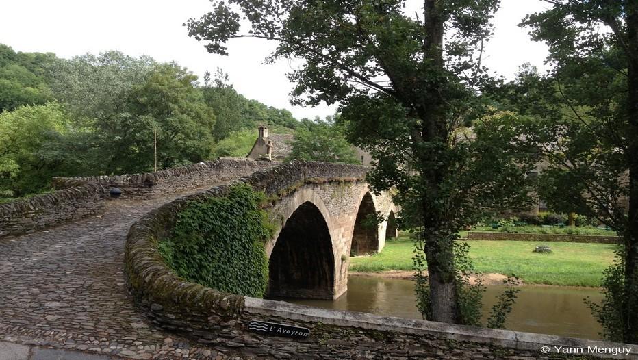 Le Pont datant du XVème siècle, entièrement restauré (Photo Yann Menguy)