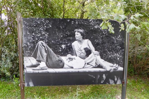 """""""Côté Jardin"""" Exposition Jean Vilar et Avignon au Jardin des Doms @ C.Gary"""
