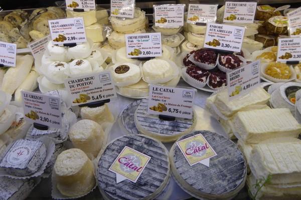 Les fromages de chèvre de La maison du Fromage @ C.Gary