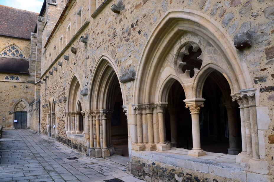 Classée monument historique, l'abbaye constitue  l'un des plus beaux exemples d'architecture  cistercienne en France. @ David Raynal