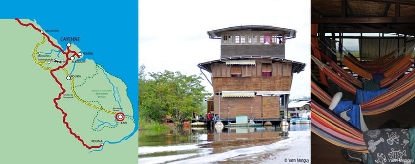 Carnet de voyage en Guyane, deuxième étape : « La réserve naturelle de Kaw-Roura »