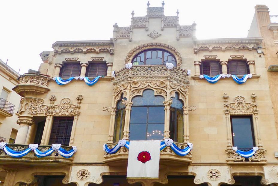 Casa Navas de Domènech i Montaner à Reus @C.Gary