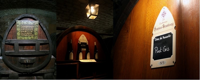 La cave des Hospices de Strasbourg abrite le plus vieux vin en tonneau du monde datant de 1472. (Crédit photo David Raynal)