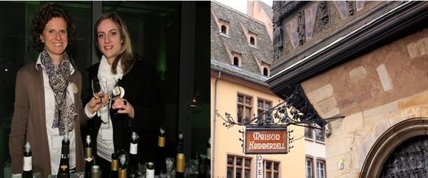 Des femmes travaillant dans la viticulture ont créé un réseau baptisé DiVINes d'Alsace s'inscrivant résolument dans l'ère des réseaux sociaux et d'Internet. Au domaine Weinbach, Colette, Catherine et Laurence Faller propose un grand cru Furstentum sélection de grains nobles 2006.(Crédit photo David Raynal)