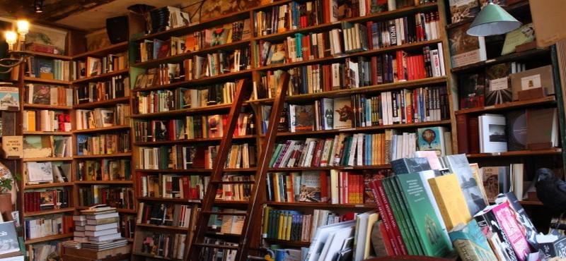 On cherche alors de quoi lire, dans l'illusion du voyage intérieur : plus de six cents romans s'offrent, dans des postures souvent impudiques  (photo DR)